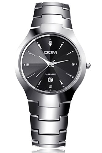 Luxury Tungsten Carbide Silver Watches product image
