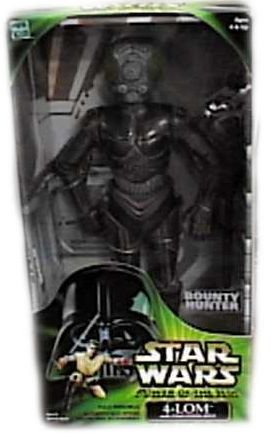 Man 12' Collectible Figure - 4-LOM 12'' - Star Wars (Power of the Jedi Action Collection)