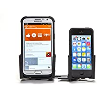 Radmo Twin Mobile Phone Mount For Your Car, Coated Aluminium