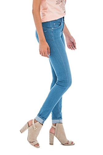 Skinny Azzuro Denim Touch Soft Salsa in Secret Chiaro 0qvXOw5
