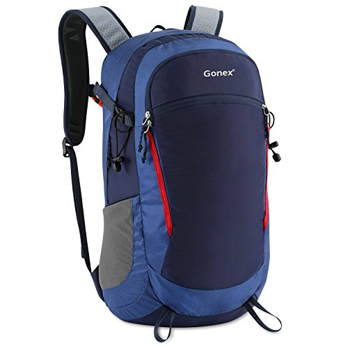 Gonex 35L Travel Hiking Backpack Water Repellent for Outdoor Trekking Camping Climbing Mountaineering
