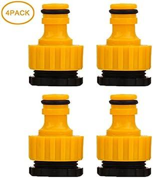 Hahnanschluss schwarz aus Kunststoff