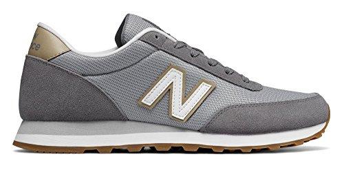 New Balance Mens 501V1 Sneaker  Gunmetal Silver  10 D Us