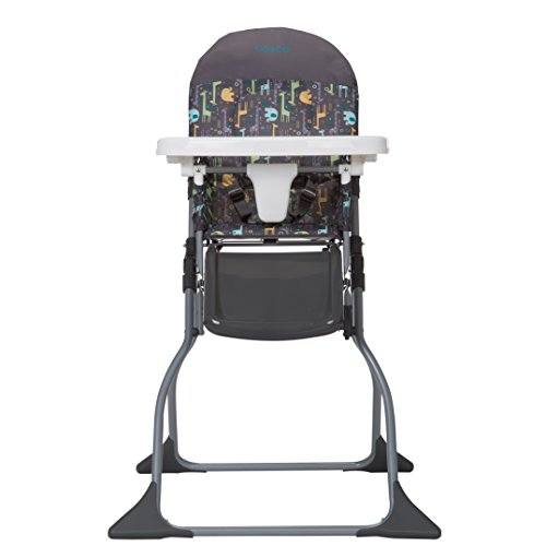Cosco Simple Fold High Chair, Sets up in Seconds, Easy to Clean and Pack Away, Zuri, Zuri by Cosco