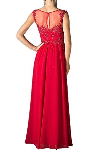 Ivydressing - Vestido - trapecio - para mujer rojo 52