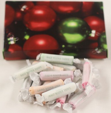 Scott's Cakes Assorted Salt Water Taffy in a 8 oz. Ornament Box