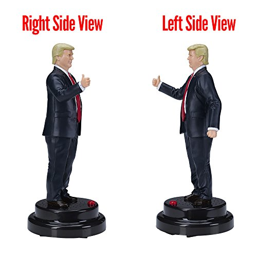 Donald Trump Talking Figure, Says 17 Different Audio Lines In President Trump's Own Voice by Hillary Laughing Pen (Image #2)