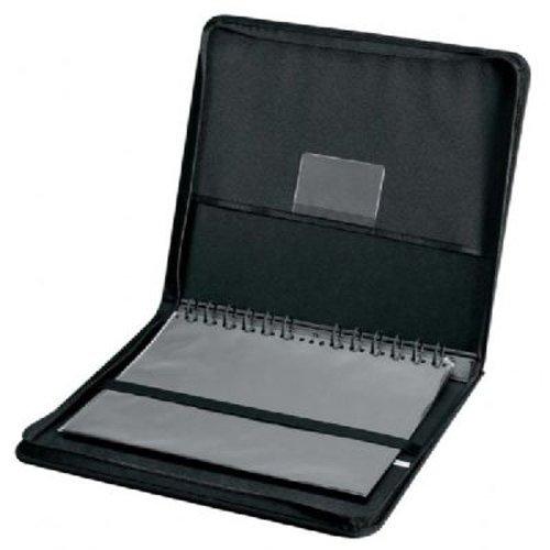 Image of Alvin, Elegance Series Ergonomic Presentation Case, Multi-Ring Design with Hidden Zipper - 17-inches x 22-inches Portfolios