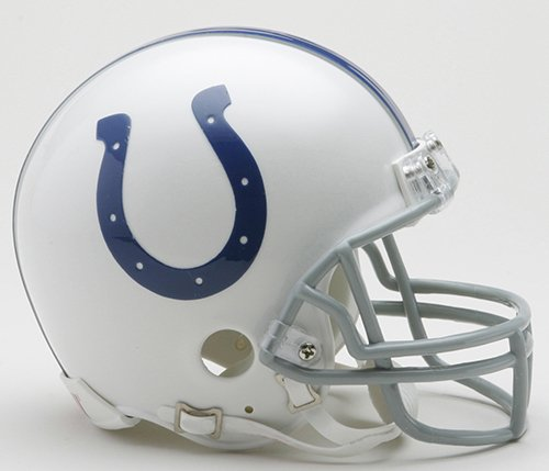 - New Riddell Indianapolis Colts VSR4 Mini Football Helmet
