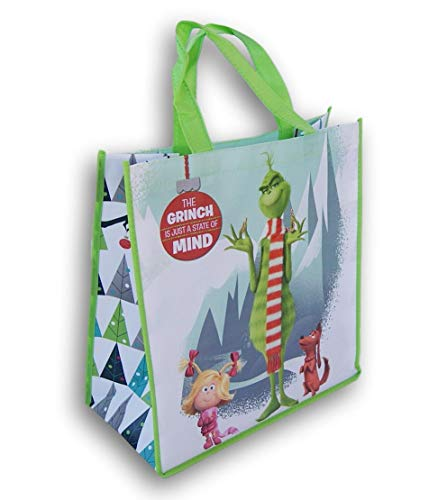 Price comparison product image How the Grinch Stole Christmas Themed Tote Bag - 13 x 13 Inch