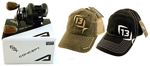 Bundle - 13 Fishing Concept A A8.1-RH 8.1:1 Right Hand Baitcast Fishing...