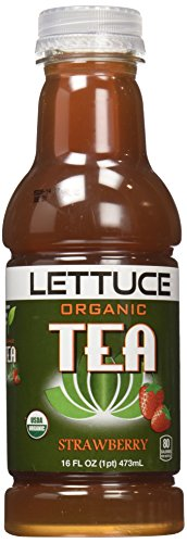 Lettuce Tea, Strawberry, 16 Ounce
