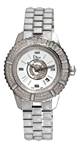 Christian Dior Women's CD11311CM001 Christal Diamond White Dial Watch