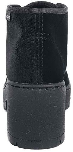 Femme Souples Noir Victoria Bottes negro n Bottines Terciopelo Et Bot 10 YY0wp4