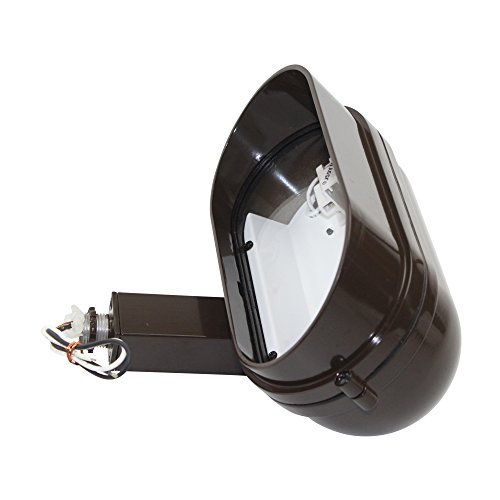 - Hadco Haf1 H Aluminum Floodlyte Landscape Light Line Voltage 120V Clear Glass 18W; Bronze