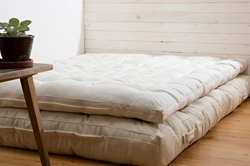 Queen Tufted Organic Wool - 7