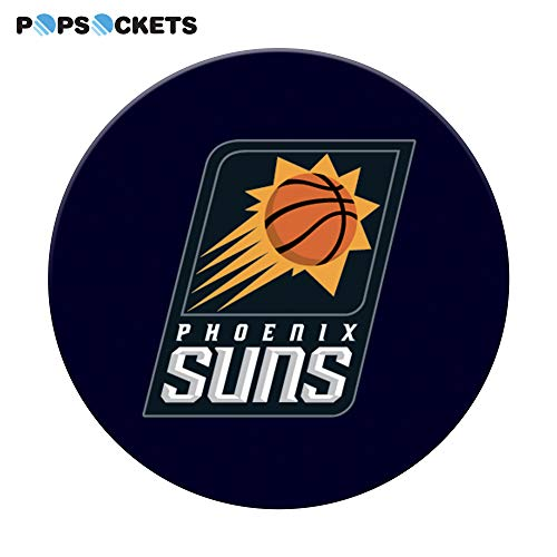 Phoenix Suns Logo NBA PopGrip with Swappable Top for Phones /& Tablets PopSockets