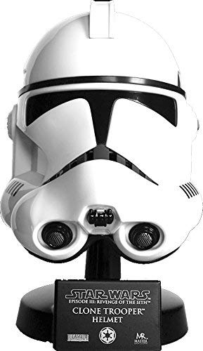 Clone Trooper 2 Piece Helmet - Star Wars Clone Trooper Helmet Scaled Replica
