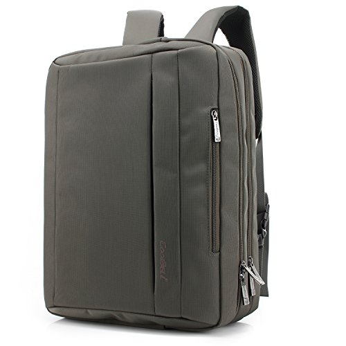 CoolBELL 17.3 inches Convertible Laptop Messenger Bag Oxf...