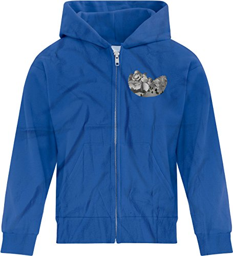 Price comparison product image BSW Youth Girls Mount Gamemore Gamer Zip Hoodie LRG Royal Blue