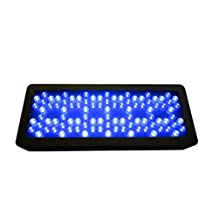 YZL/ 983W high power LED aquarium light soft and hard coral water/marine fish tank lights/lamps , black shell multi spectral