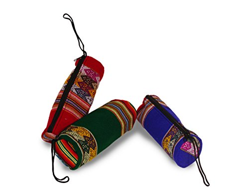 Pencil Harvest (Cotton Pencil Bags Make up Pouch Wholesale 6 Pack Assorted Peru Fair Trade Lot*003739*)