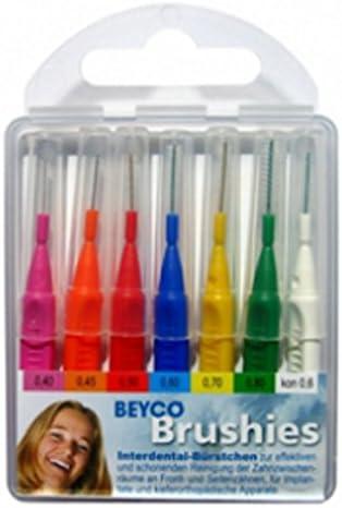 Interdentalbürsten Beycodent Brushies 7 Stück sortiert in Taschenbox