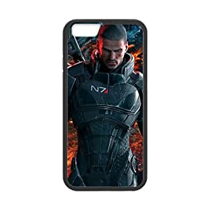 Mass Effect Cell Phone Protector for iPhone 6(4.7) Plastic and TPU (Laser Technology)
