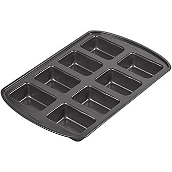 Wilton 2105-3972 Perfect Results 8-Cavity Loaf Pan, Mini
