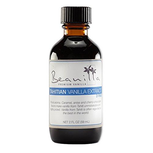 Tahitian Vanilla Extract (Double-Fold) - 2 fl oz (2x Vanilla Extract compare prices)