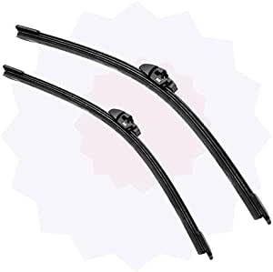 Set of 2 Online Automotive FWBPG30620 1011 Front Aero//Flat Windscreen Wiper Blades
