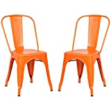 #2: Poly and Bark Tolix Style Bistro A Dining Side Chair