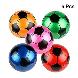 BESTOYARD Juguete Balón de Fútbol Hinchable para Juego de Playa de ...