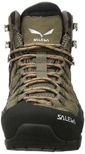 SALEWA Ms Alp Trainer Mid Gore-Tex, Scarpe da Arrampicata Alta Donna Marrone (Walnut/Peach Coral)