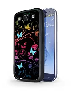 Colorful Butterfly Hard Case for Samsung Galaxy S3