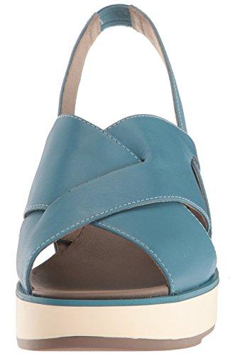 Blue Tropik K200593 Wedge Women's Sandal Camper waxTn6