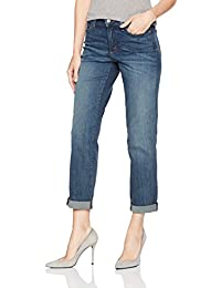 Women's Jessica Boyfriend Jeans in Premium Lightweight Denim