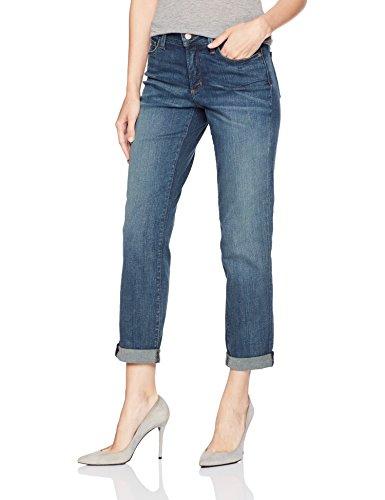 NYDJ Womens Jessica Boyfriend Jeans in Premium Lightweight Denim