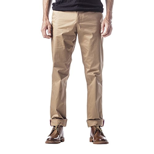 Fred Perry USA Twill City Trousers - Men's Washed Rubber, 30