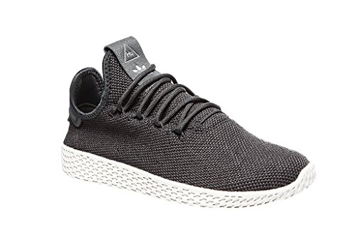 adidas Unisex-Erwachsene PW Tennis Hu J Fitnessschuhe Grau (Carbon/Carbon/Blatiz 000)