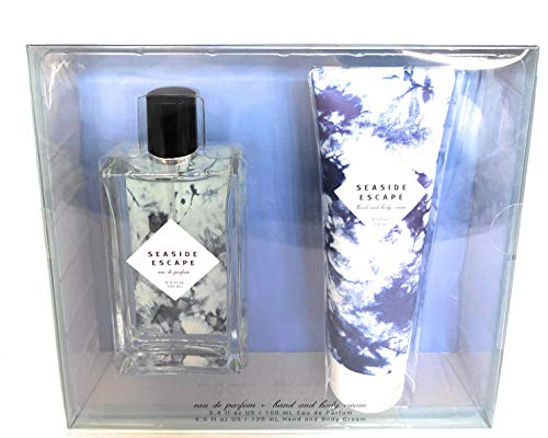 - Tru Fragrance Seaside Escape Eau De Parfum Lotion Set