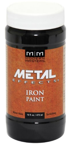 Modern Masters ME208-16 Reactive Metallic Iron, 16-Ounce
