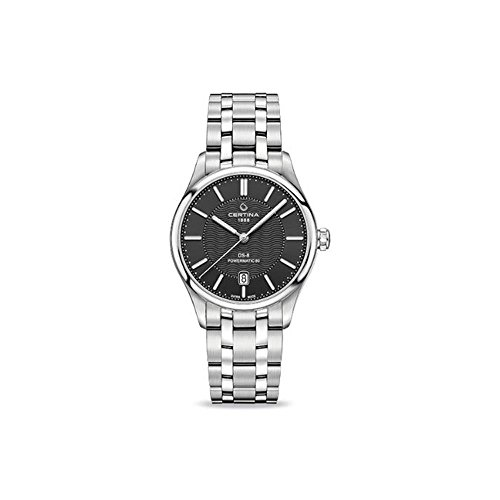 Certina DS- 8 Automatic Black Dial Stainles Steel Ladies Watch C0334071105100