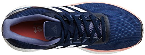 adidas Supernova W, Zapatillas de Gimnasia Mujer Gris (Midnight Grey  / Footwear White / Still Breeze)