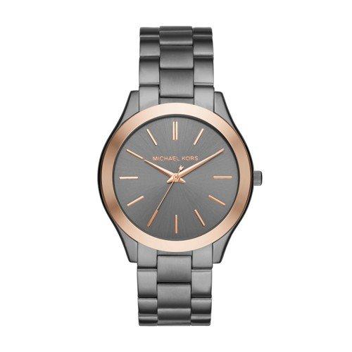 Michael Kors Men's Quartz Stainless Steel Casual Watch, Color:Grey (Model: - Mk Men