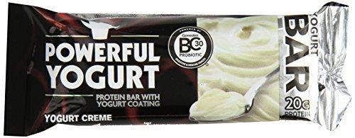 Powerful Yogurt Creme Bars, 12 Count by Powerful Yogurt