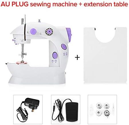 YAOHM Mini máquina de Coser de Mano Hilo Doble de Doble Velocidad con luz Multifunción eléctrico Automático Tread Rewind Herramientas de Costura,C,AUPLUG: Amazon.es: Hogar
