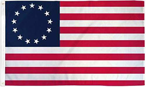 Best Flags Betsy Ross 3x5ft Poly Flag, Multicolor ()