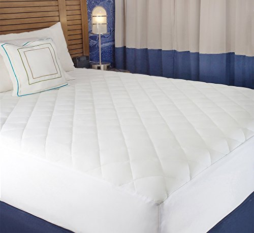 Comfort Pad Mattress (Abit Comfort Mattress cover, Quilted fitted mattress pad queen fits up to 20