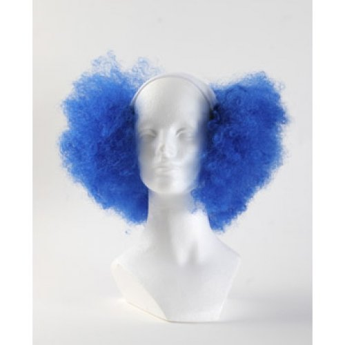Bald Curly Clown Wig Royal product image